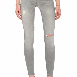 Current/Elliott The Ankle Skinny Fade Destroy Jean